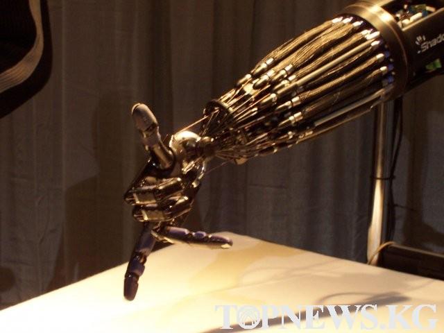 ИА Топньюс -Роботизированная рука, которая может заменить человеческую Порталы